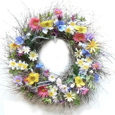 I love this Summer Carnival Wreath!  Will look so pretty on a door or window....