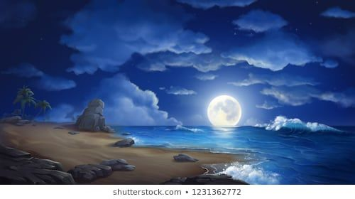 Ocean Scene Drawing Images Stock Photos Vectors Shutterstock Ocean Scenes Scene Image Drawing Images