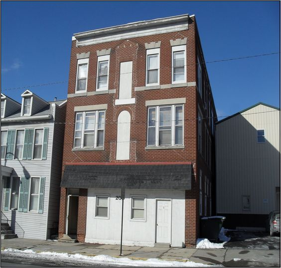 9 unit apartment building in very good condition, two units need fresh paint & carpet. Asking price $180,000. Better price if bough with Grand St Package (5 units, all 2br, $60,000). Call 717-682-9768 ref: 9 unit w/grand st deal.