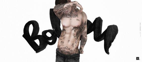 >The Mens Dept March NEW *Bolson Tattoo / Mr. Mockup | Flickr - Photo Sharing!