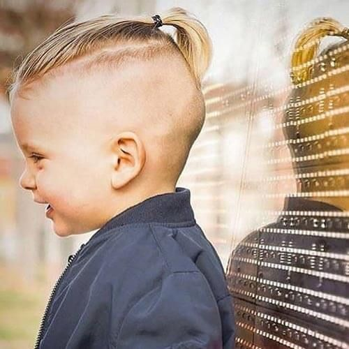 33+ Little boy ponytail hairstyle trends
