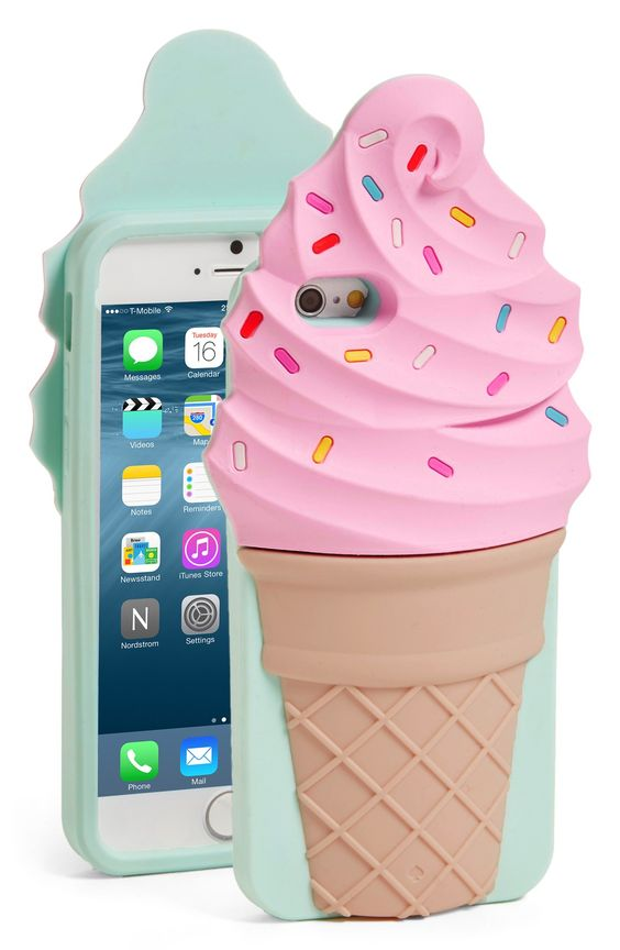 Keeping cool with this adorable phone case from Kate Spade. What a sweet treat!
