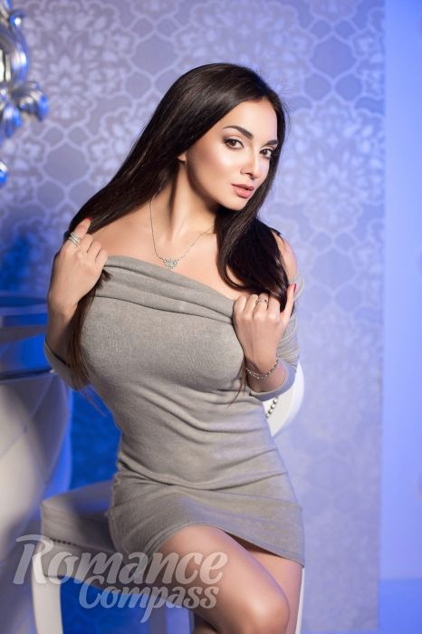 Date Ukraine single girl Svetlana: brown eyes, black hair, 34 years old|ID66694