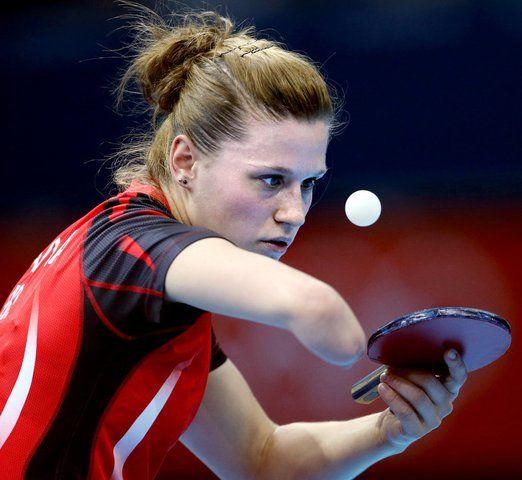 london table tennis singles women