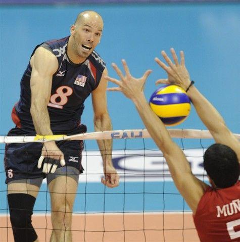 2012 U.S. Olympic Men's Volleyball Team...including Richmond-born Reid Priddy!  #olympics