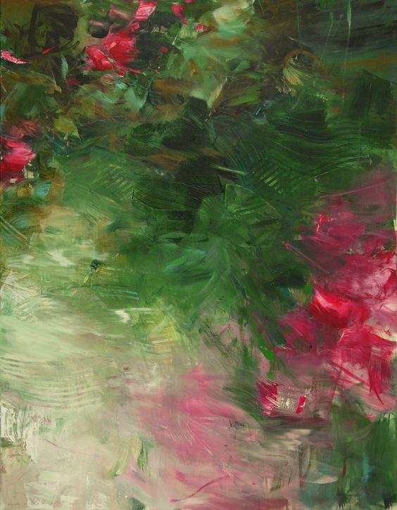 ohne Titel, 2014, Acryl auf Leinwand, 180 x 140 cm