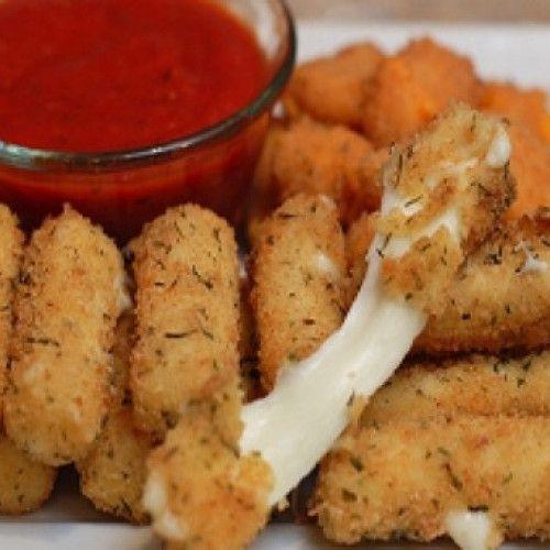 Bastoncitos De Mozzarella Cocineros Argentinos Mozzarella Sticks Cooking Mozzarella Sticks Recipe