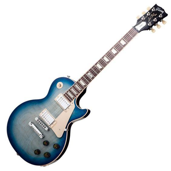 Gibson Les Paul Peace 2014 Electric Guitar - Tranquillity Blue Burst | Dawsons Music