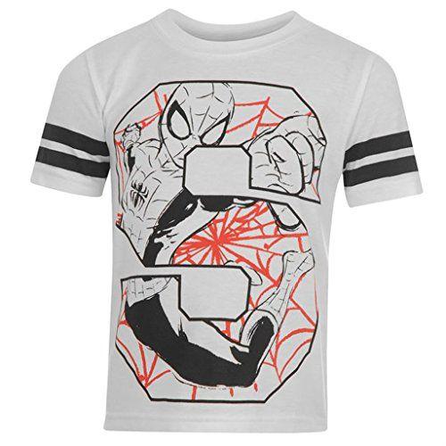 Marvel - Camiseta de manga corta - camisa - Manga Corta - para niño blanco blanco 11 años #regalo #arte #geek #camiseta