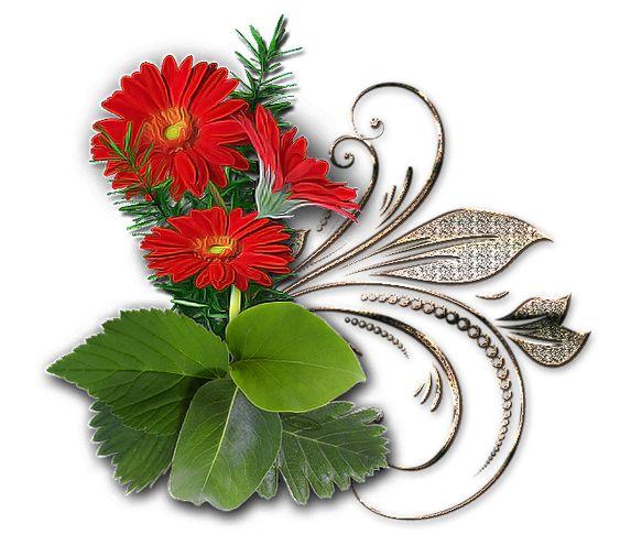 клипарт декор «цветы». Обсуждение на LiveInternet - Российский Сервис Онлайн-Дневников: