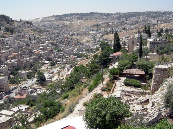 "Kidron Valley aka the Valley of Jehoshaphat (""Yahweh shall judge"" ):"