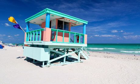 From a five-star hostel by Miami beach to a campsite on Florida's white-sand barrier islands, here's our pick of affordable beach accommodation in the Sunshine State