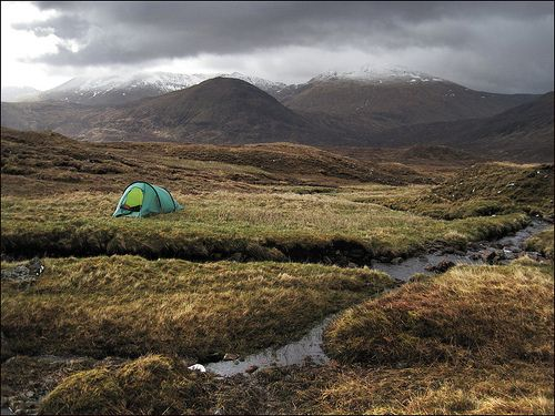 Scottish Highlands, The Best Camping and Caravan Sites
