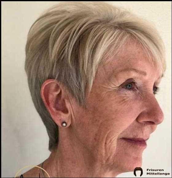 Kurzhaarfrisuren Fur Altere Frauen Mit Dunnem Haar 2019 2020 In 2020 Haarschnitt Kurz Haarschnitt Blonde Pixie