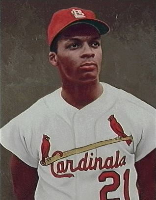 My cousin - St. Louis Cardinal great AND baseball pioneer Curt Flood.