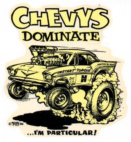 Chevys dominate
