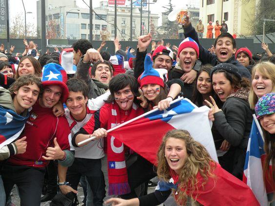 Jovenes chilenos