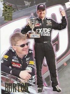 Jeff Burton Press Pass VIP 1997 Card No. 3 Nascar  http://www.webstore.com/store,pgr,Motor-Racing,category,1551,parent_id,181753,user_id,shop