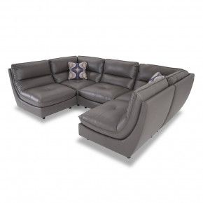 Eclipse Modular 5 Piece Sectional Sectional Sectional Sofa Reclining Sectional