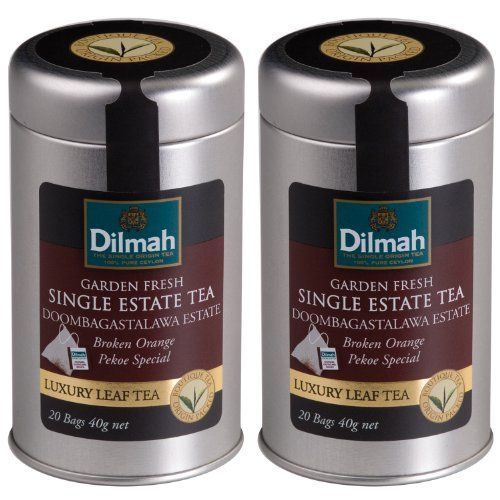 Dilmah Single Estate Tea Dombagastalawa Estate Broken Orange Pekoe Special Tea 20 Count Tea Bags Pack Of 2 You Can Find Premium Spices Dilmah Tea Bag