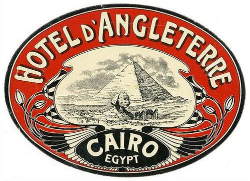 Luggage Labels - Cairo by wowwblog4, via Flickr