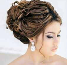 Cute bun for special occasions