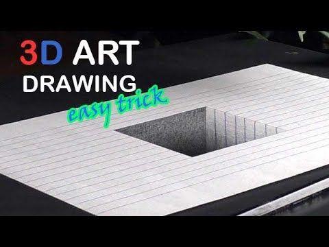 Easy Drawing Ein 3d Loch Im Blatt Zeichnen Lernen Fur Anfanger Youtube Zeichnen Lernen Fur Anfanger Zeichnen Lernen 3d Zeichnen