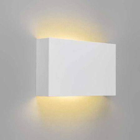 wandleuchte otan wei led schlanke und neutrale wandleuchte f r indirekte beleuchtung an der. Black Bedroom Furniture Sets. Home Design Ideas