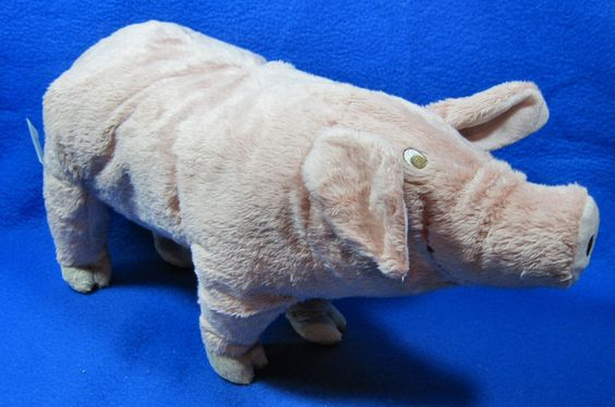 IKEA Pig Stuffed Animal Toy Soft Plush Pink KNORRIG Piggy NWT #IKEA  Selling On Ebay Everyday ...