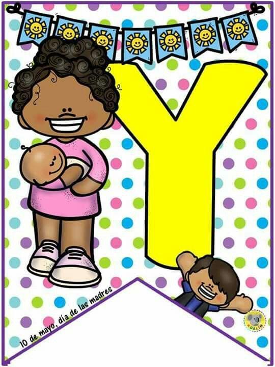 Title Con Imagenes Banderines Escolares Modelos De Letras