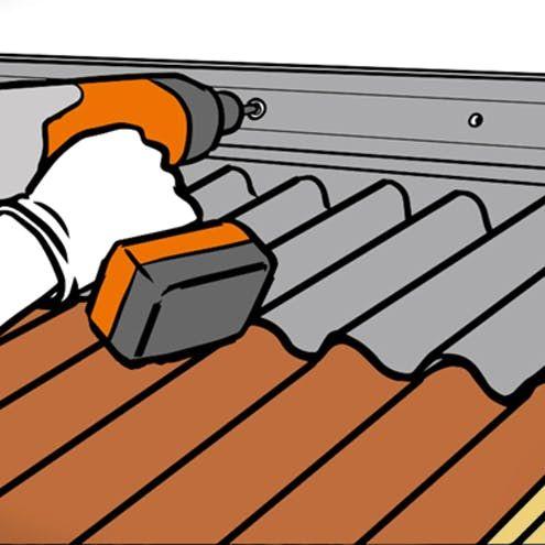 Dach Decken Mit Wellplatten In 7 Schritten Obi In 2020 Decken Dach Gartendach