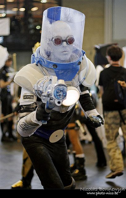 Mister Freeze Cosplay, Japan Expo 2009