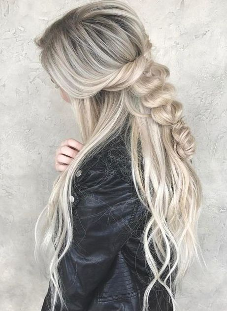 Chic Braided Hairstyles For Long Length Hair Styles Long Hair Girl Braids For Long Hair