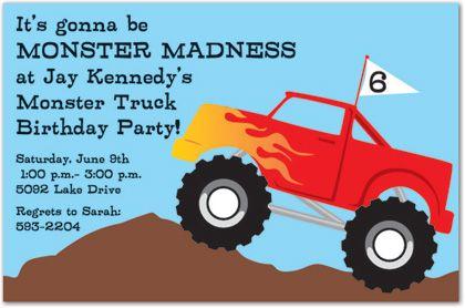 Truck Rally Invitation MyExpression