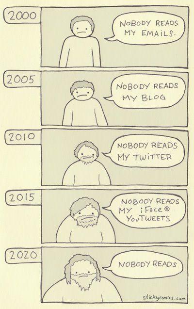 Nobody reads...