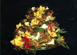 1st Place - Canadian Academy of Floral Art Design Competition 2007