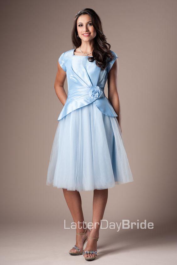 Bridesmaid &amp- Prom- Lucille - LatterDayBride &amp- Prom Modest Mormon ...