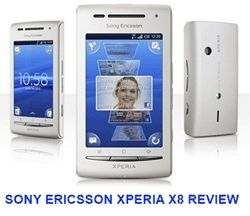 Xperia Phones are well known phoned for their features and strong built. Lets get to know about Sony Ericsson Xperia X8 Review