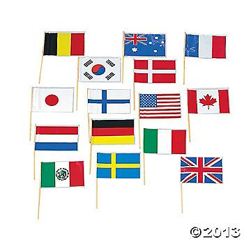 flags of nations of the world