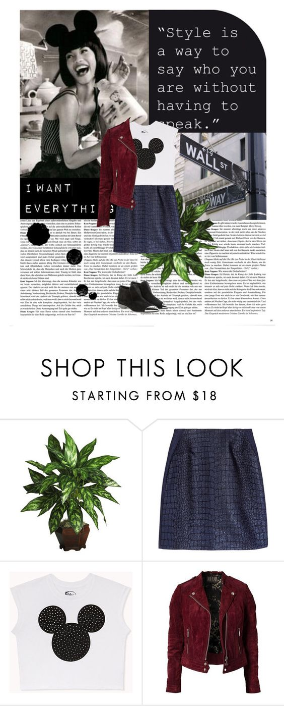 """Untitled #45"" by silverdoe1 ❤ liked on Polyvore featuring Nearly Natural, Richard Nicoll, Forever 21, Jofama and Miu Miu"