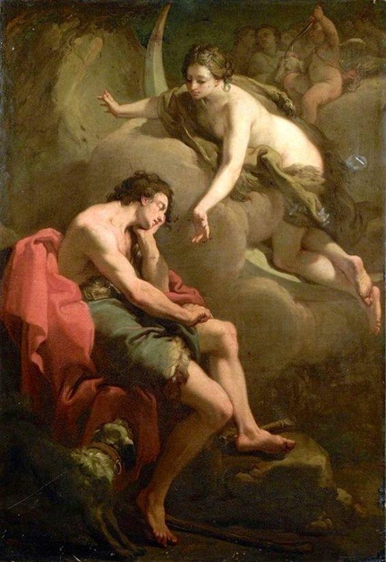 Gaetano Gandolfi, Diana and Endymion, c. 1788