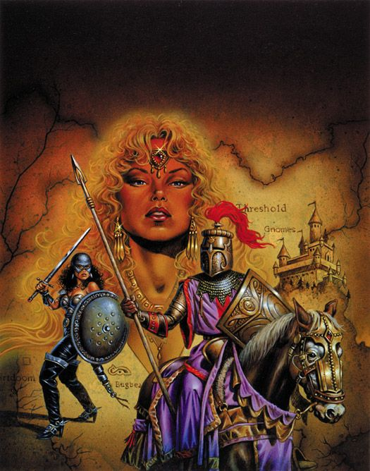 """The Grand Duchy of Karameikos by Clyde Caldwell ****If you're looking for more Sci Fi, Look out for Nathan Walsh's Dark Science Fiction Novel """"Pursuit of the Zodiacs."""" Launching Soon! PursuitoftheZodiacs.com****"""