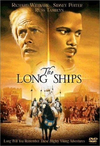 """The Long Ships (1960) - A vagabond Viking adventurer and a Moor both compete to find """"The Mother of All Voices,"""" a legendary golden bell near the Pillars of Hercules."""