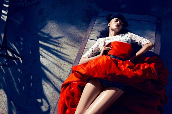 Crystal Renn by Camilla Akrans for Vogue Japan June 2012 9: