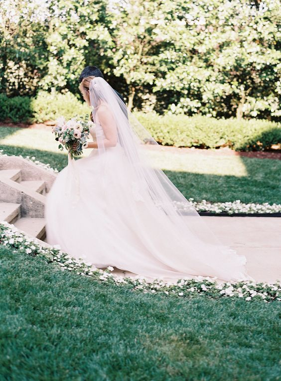 Our outdoor ceremony site creates a dreamy atmosphere for bohemian style weddings
