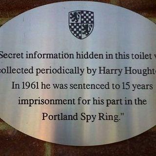 Sign on public toilets, New Alresford, Hampshire, UK