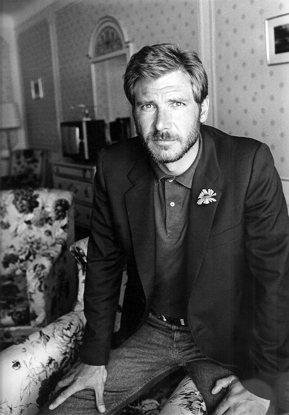 A Young Harrison Ford