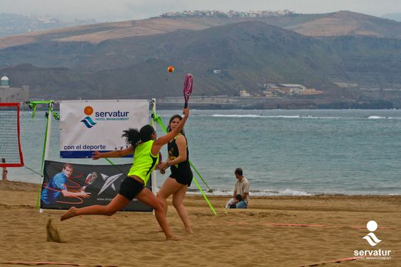 Second American Beach Tennis Tournaments League. Gran Canaria. @Servatur Hotels supports sports! http://on.fb.me/RnLIsF