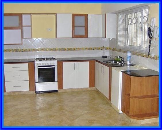 Modelos de cocinas empotradas en cemento imagui for Ver modelos de muebles de cocina
