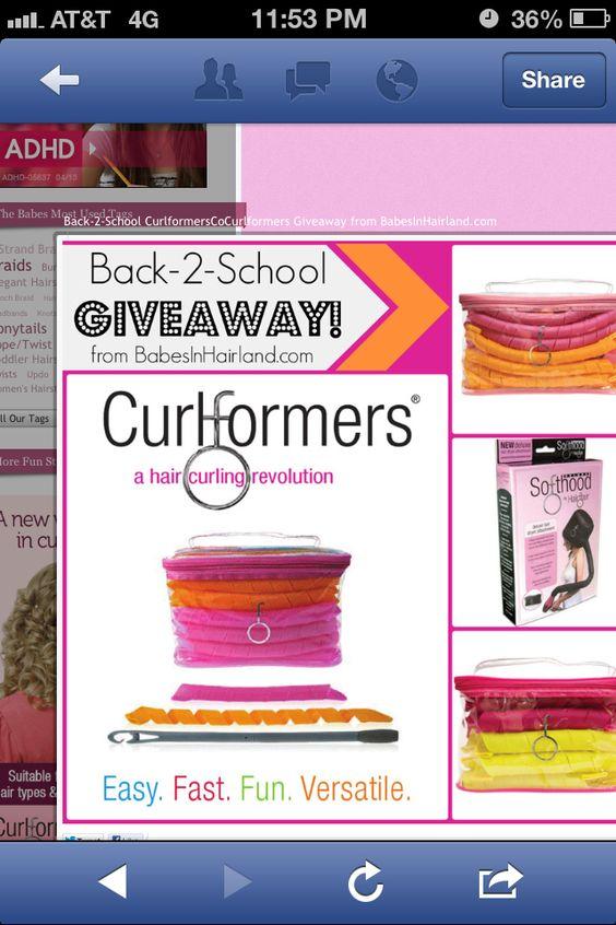 Curlformers!!